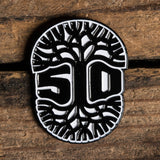 Enamel Pin - 510 Tree