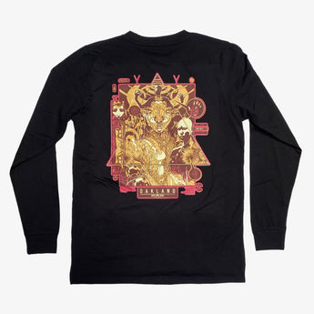 Joshua Mays X Oaklandish Tee - Long Sleeve, Cotton, Black