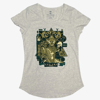 Joshua Mays X Oaklandish Women's Tee - Cotton, Oatmeal