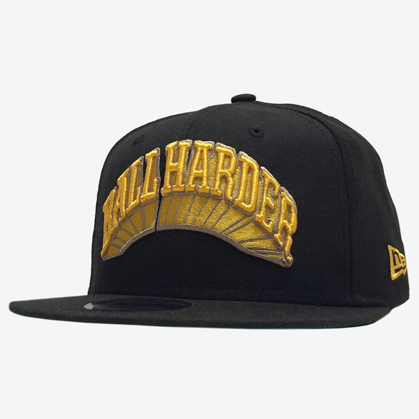 Ball Cap - Ball Harder - Dustin O. Canalin - Black & Gold