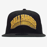 Snapback Ball Cap -  Ball Harder Dustin O. Canalin, Black