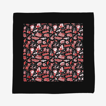 bandana headtie - agana graffiti artist design - cotton