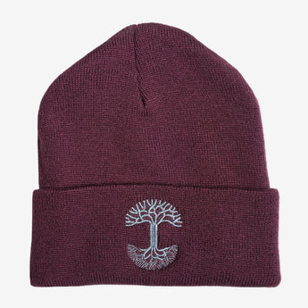 Embroidered Cuff Beanie