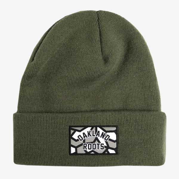 Roots SC Woven Label Cuff Beanie