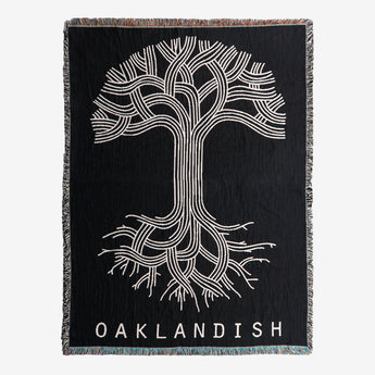 Oaklandish Logo Throw