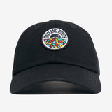 Cap - Roots SC Logo, Curbed Visor & Strap Back, Black