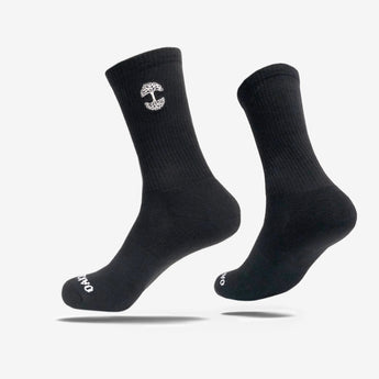 Oaklandish Logo Men's Crew Socks - Black