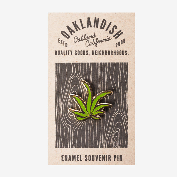 Enamel Pin - Leaf