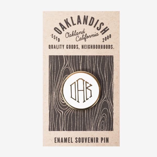 Enamel Pin - Mono OAK
