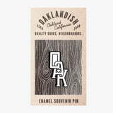 Enamel Pin - OAK Monogram