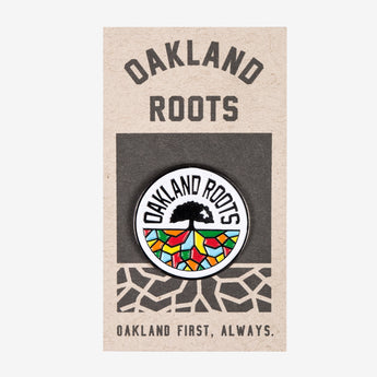 Roots SC Oakland Roots Logo Enamel Lapel Pin - Round