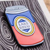 Enamel Pin - Lake Brew Beer Can