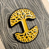 Enamel Pin - Tree Logo Outline