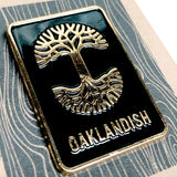 Enamel Pin - Tree Logo Rectangle
