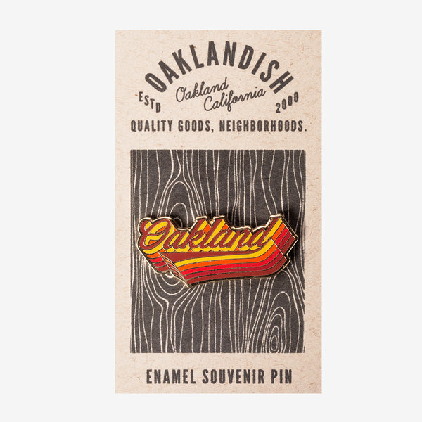 Enamel Pin - Swash Oakland
