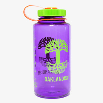 Oaklandish Nalgene Bottle - Purple
