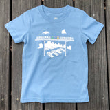 t-shirt-cotton-children-blue-oaklandish-oakland fairyland theme park
