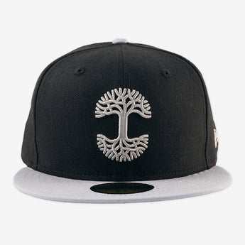 Oaklandish Classic Fitted Black & Grey