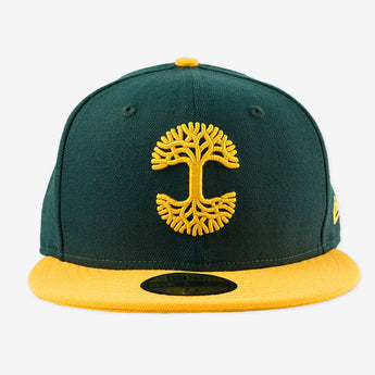 Oaklandish Classic Fitted Forest