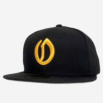 Cap - New Era 59Fifty, Embroidered Oakland A's Logo, Black