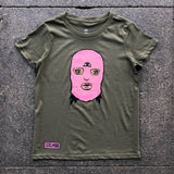 Women's Girl Mobb Ski Mask Tee