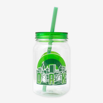 Green City Mason Tritan Bottle 25 oz