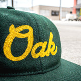 Oak Chain Stitch Strap Back