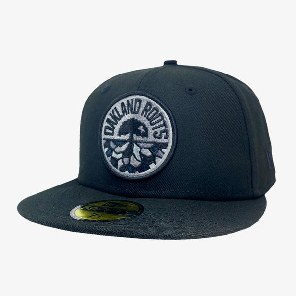 New Era Cap - 59FIFTY, Fitted, Roots SC Black Logo, Black