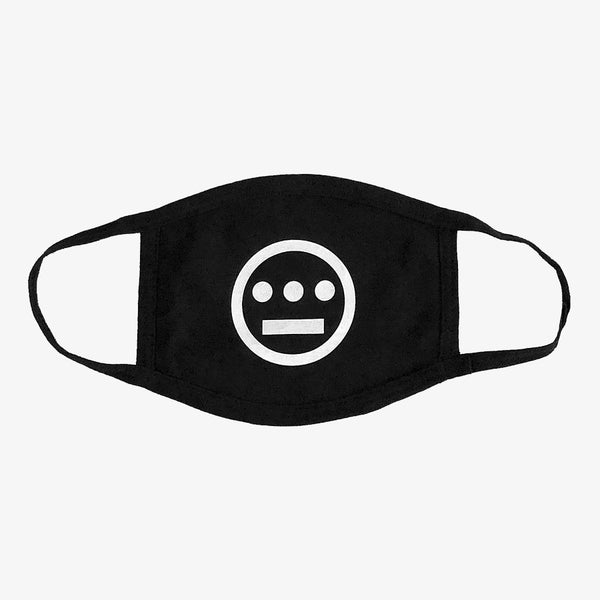 Face Mask - Hiero Crew Logo, 3 Ply 100% Cotton
