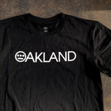 Hieroakland Logo Tee - 100% Cotton Black