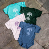 Infant One Piece Oaklandish Classic Logo | 100% Spun Cotton