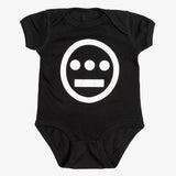 Infant One Piece - Hieroglyphics Logo Black