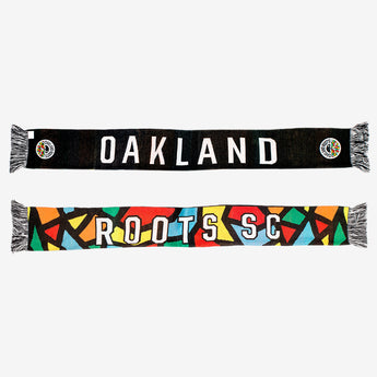 Roots SC OG Knitted Scarf - Multi- Color