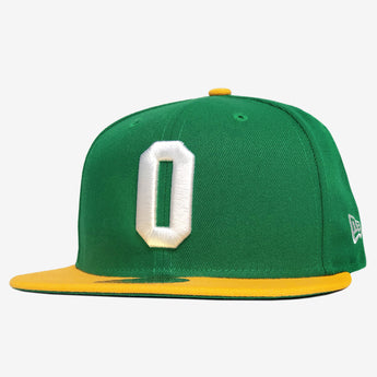 New Era Cap - 59FIFTY, Fitted, Embroidered Oakland As O Logo, Green