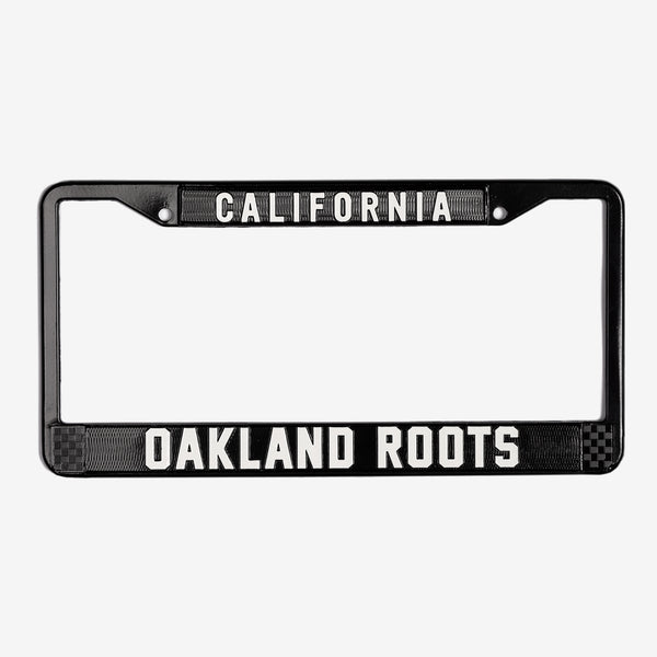 Roots SC License Plate Holder