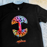 Abstract Oakland Classic Oaklandish Tee - Black Cotton