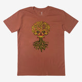 T-shirt | Cotton Unisex | copper | Urban Aztec Jesse Hernandez