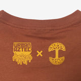 t-shirt cotton-unisex-copper-jesse hernandez-urban aztec