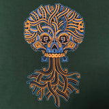 Ancient Roots Tee - Jesse Hernandez of Urban Aztec, Green