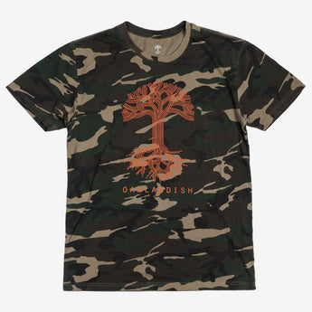 t-shirt -camo- oaklandish
