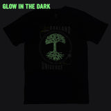 T-Shirt - Glow In Dark Universe, Chabot Space Center, Navy Cotton