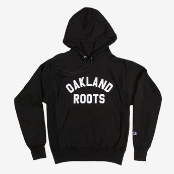Champion Hoodie - Oakland Roots, Black Cotton