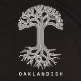 T-Shirt- Oaklandish Classic Logo, Heavyweight Cotton, Black