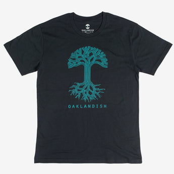 T-Shirt - Oaklandish Classic Logo, Cotton, Navy