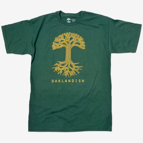 T-Shirt - Oaklandish Classic Logo, Cotton, Forest Green