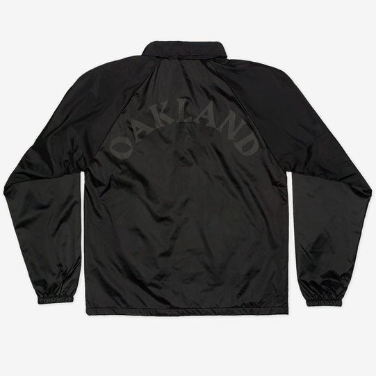 Black on Black Coaches Jacket