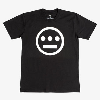 t-shirt - hiero hip hop logo - black cotton