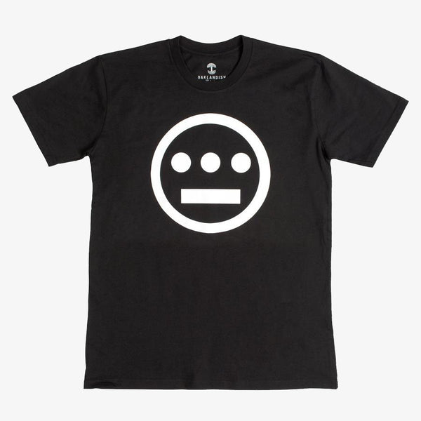 Tee - Hiero Logo, Black Cotton