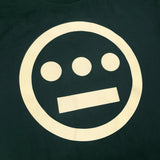 t-shirt - hiero hip hop logo -pine green cotton