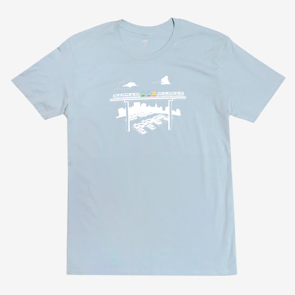 t-shirt-cotton-unisex-light green-oaklandish-oakland fairyland theme park